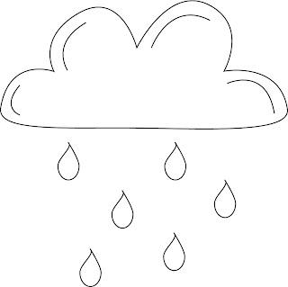 Illustrator tekening wolk