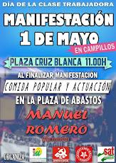 Manifestación 1º Mayo en Campillos