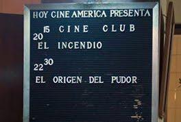 El mítico Cine América (Santa Fe)