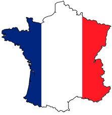 France-Flag Map