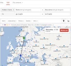 Google Ricerca voli
