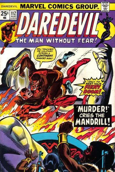 Daredevil #112, Mandrill