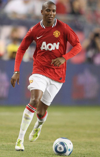 Ashley Young Manchester United 2011-2012