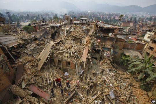 Video Gempa Bumi Di Nepal Yang Buat Anda Terkejut