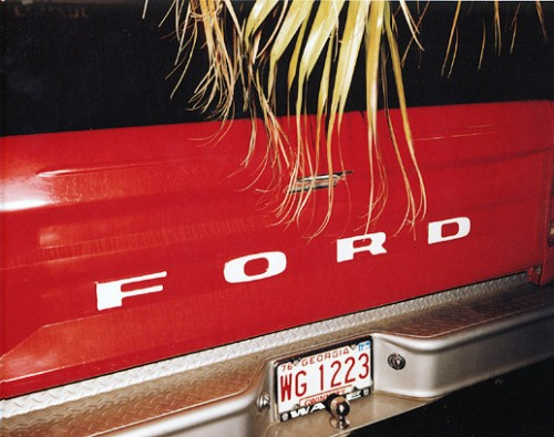 masters of photography : Stephen Shore : photo of ford car