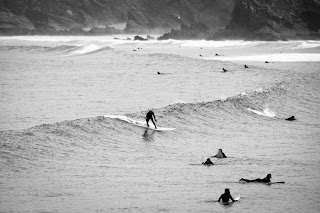 Perfect sets for Newquay surfers