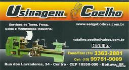 Usinagem Coelho Serviços de Torno, Fresa Solda e Manutenção Industrial