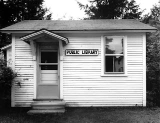 Hartland Four Corners, Vermont, 1994. Robert Dawson's photos of libraries are currently on view in the exhibition Public Library: An American Commons at the San Francisco Public Library.