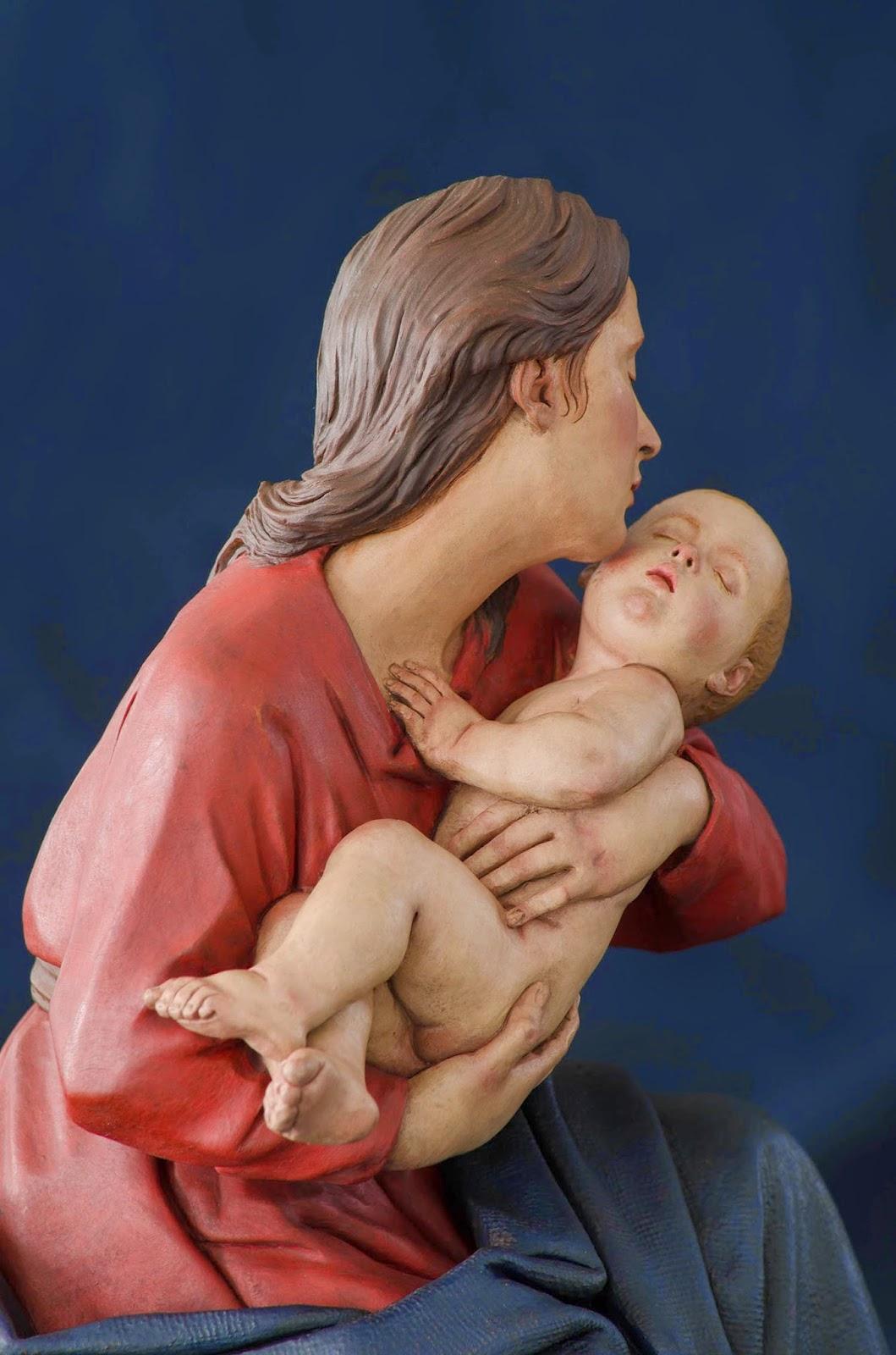 Nacimiento Belén Nativity presepe krippe Arturo Serra Barro cocido 33