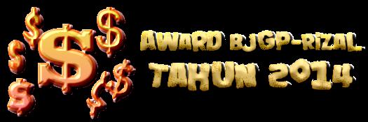 Award BJGP-Rizal  2014