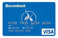 Thẻ tín dụng quốc tế Sacombank Visa Credit