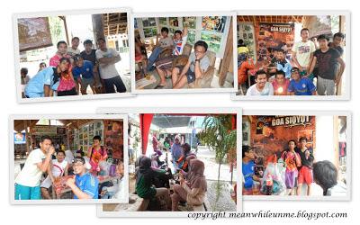 Suasana di Pintu Masuk Cave Tubing Gua Pindul