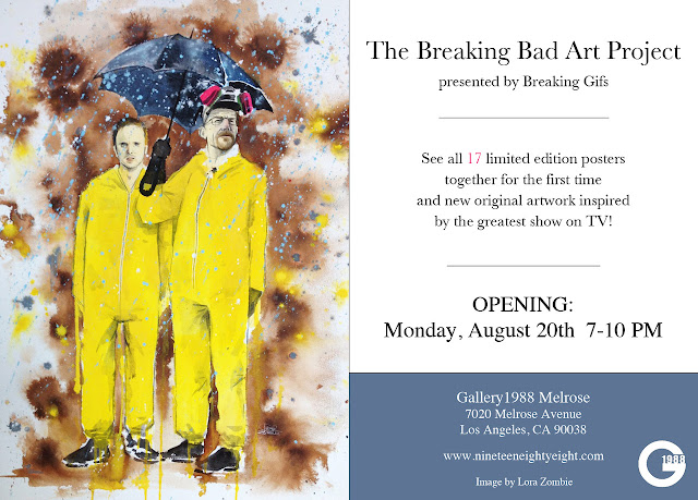 Gallery 1988 presents The Breaking Bad Art Project Group Show
