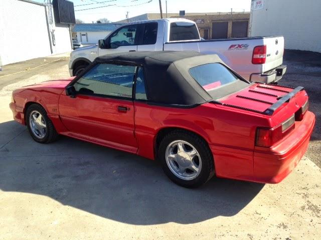Whiteboy S Mustangs 1993 Mustang Gt Convertible 5 0 5spd