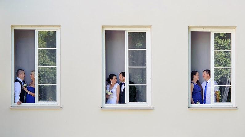 vestuvių fotosesija su pamergėmis