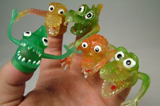 Rubber Finger Puppets