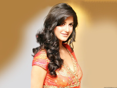 Katrina Kaif - In Red Dress