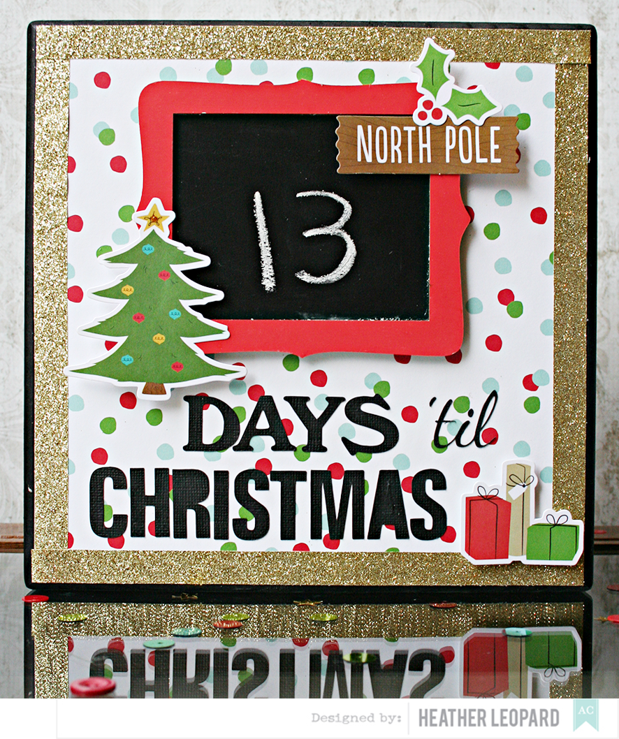 Heather Leopard: Christmas Countdown Project