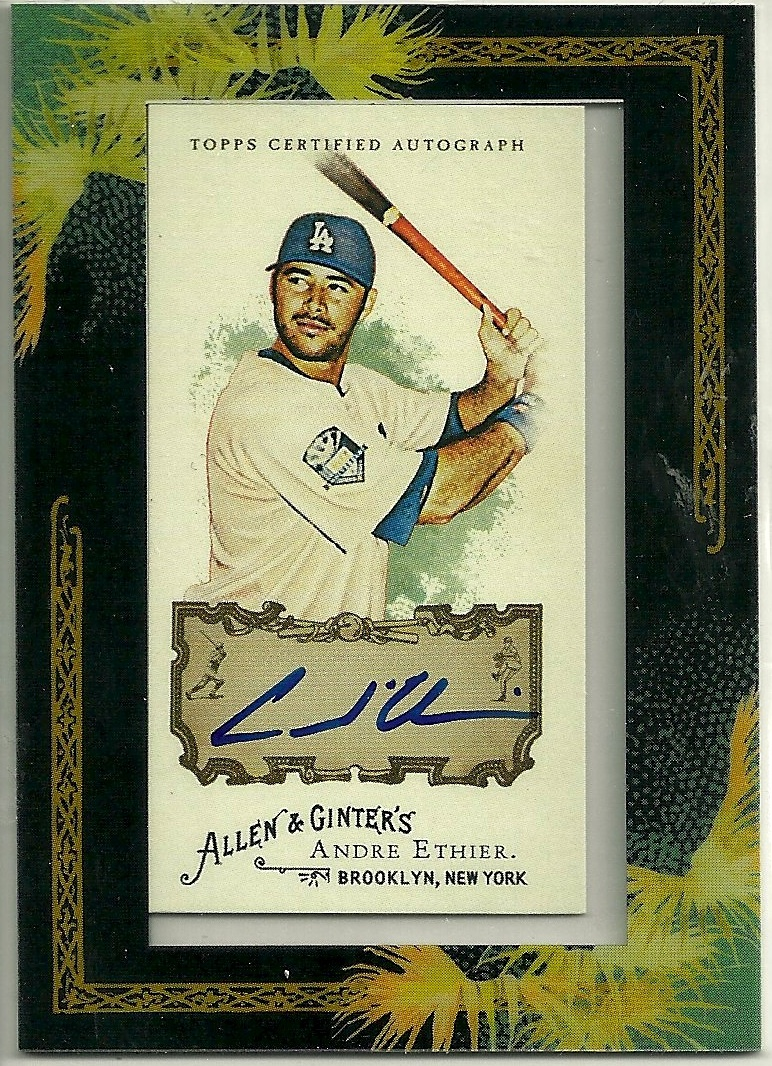 The Snorting Bull Two Allen Ginter Autographs