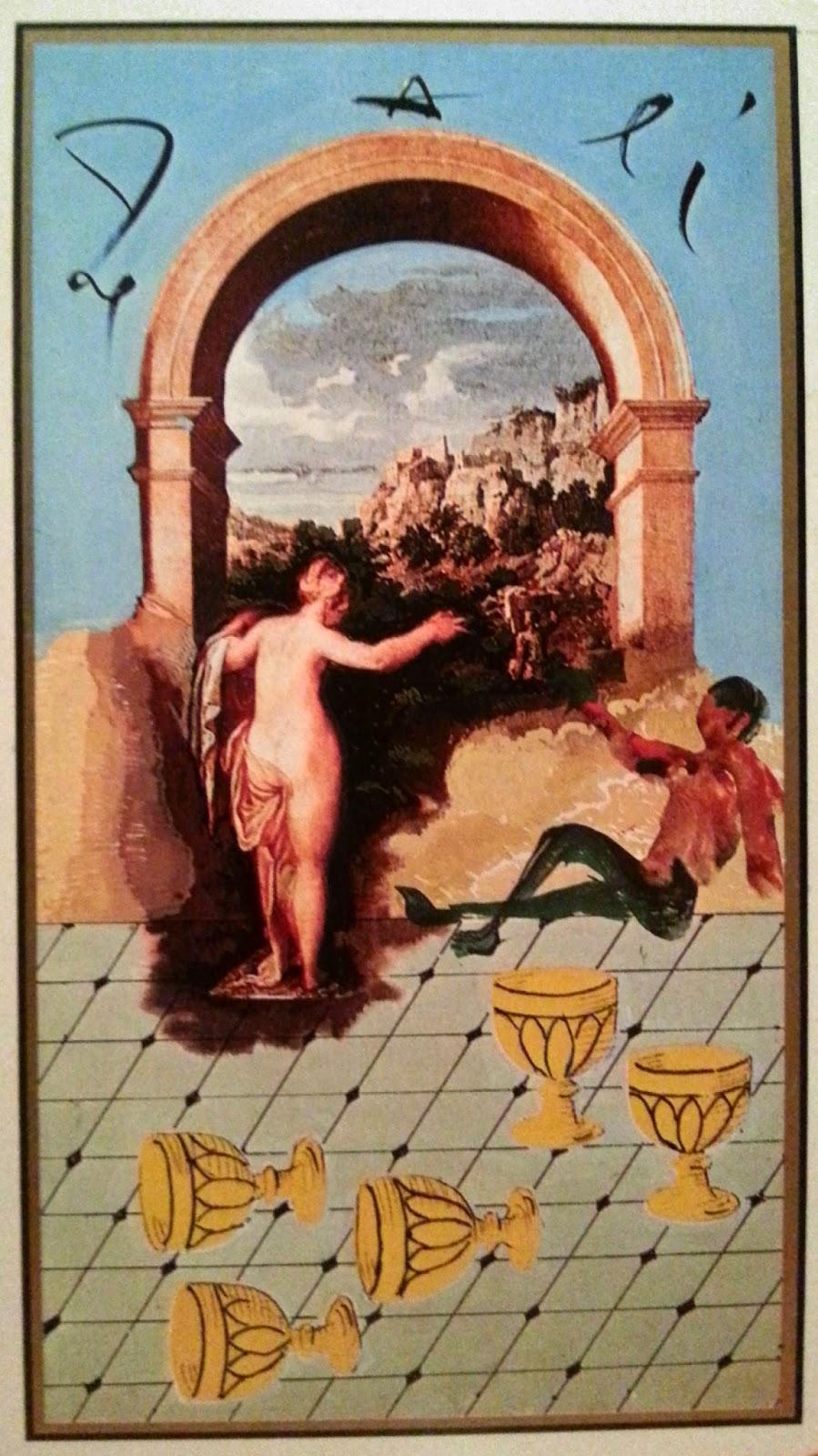 Cinco de Copas- Tarot Dalí