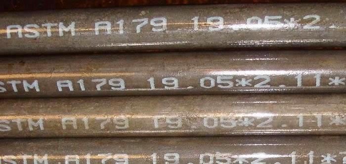 ASME SA179 steel tubing