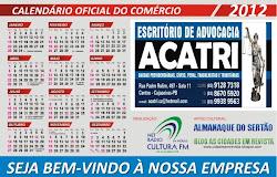 CALENDARIO OFICIAL DO COMERCIO DE CAJAZEIRAS  PARA O ANO 2012