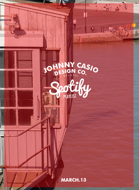 Johnny Casio Design Co. Studio Spotify Playlist