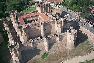 El Castillo de Coca en Segovia - que visitar