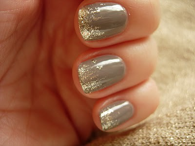 Lush fab glam blogazine style me pretty nail designs shimmer give your classic french manicure a beautiful twist by adding sparkles to your nail tip have fun with your nail color choices prinsesfo Gallery