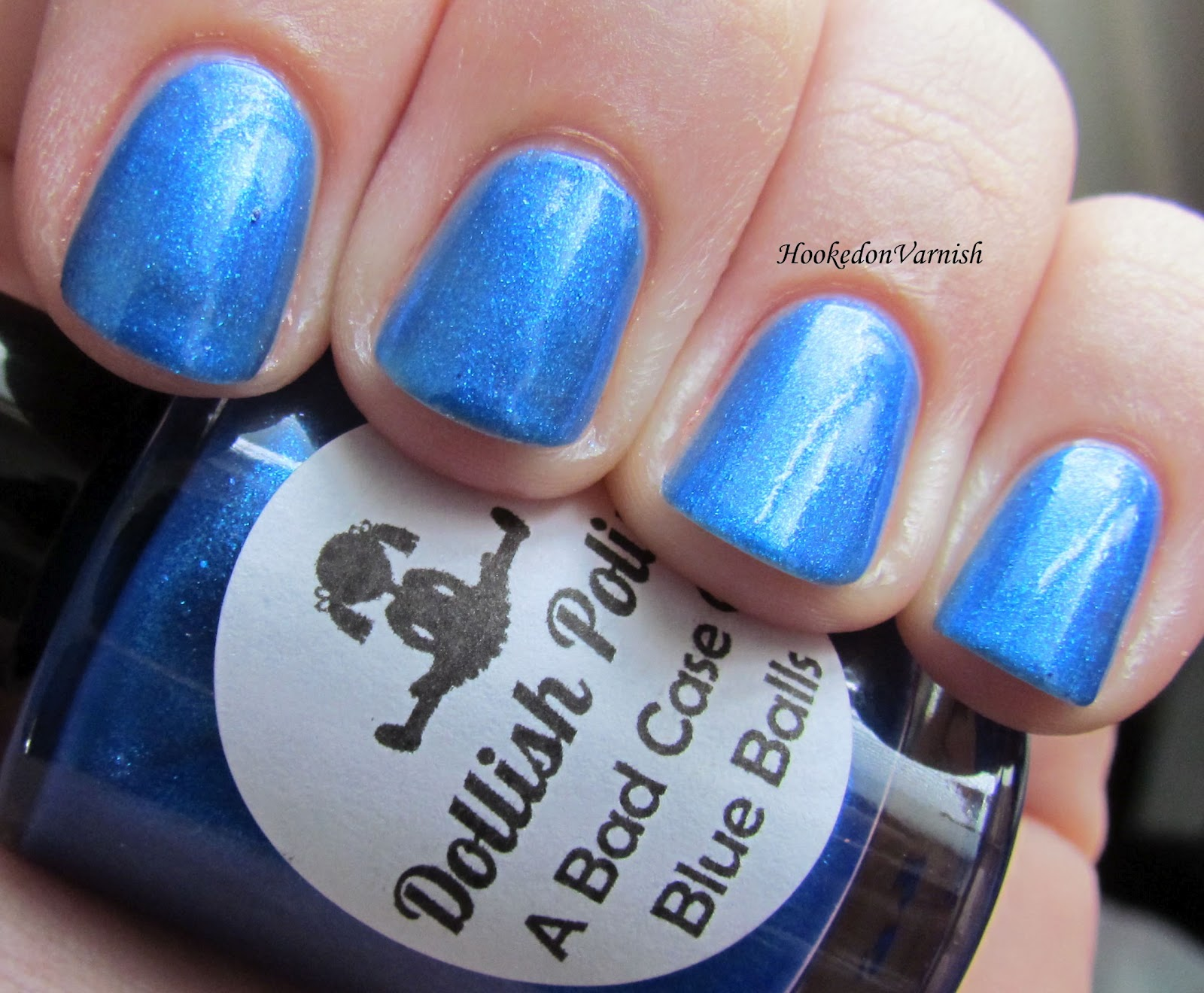 This One Is A Nice Royal Blue With Glass Fleck I Love This One As I Do Most If Not All Blues This Is 3 Coats It Was Slightly More Sheer