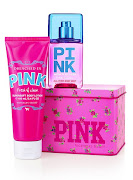VS PINK FRESH & CLEAN MUST HAVE GIFT TIN