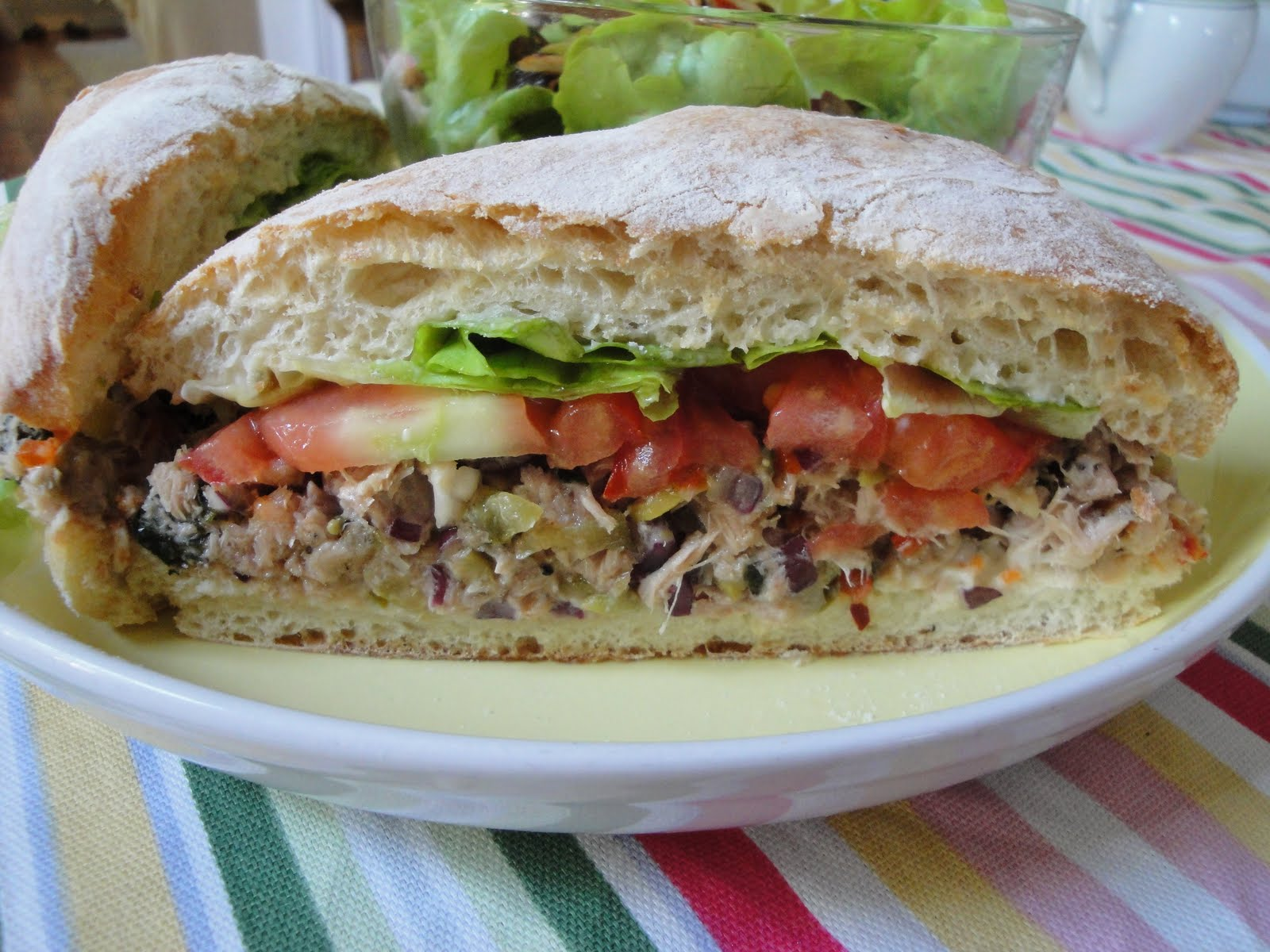 Mediterranean Tuna Salad Recipe — Dishmaps