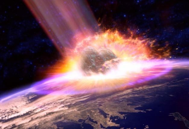 why does it when an asteroid hits earth the explode - photo #44