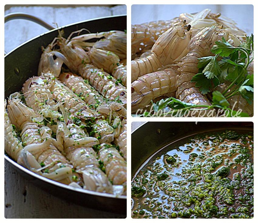 cicale in padella - ricetta