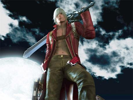 Dante de Devil May Cry - Chicos sexys de los videojuegos
