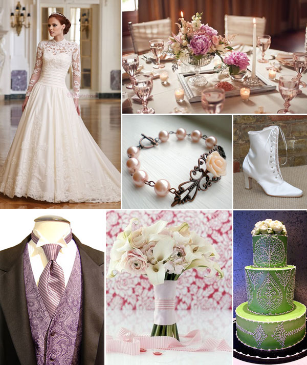 Vintage is New Again! A Victorian Wedding...
