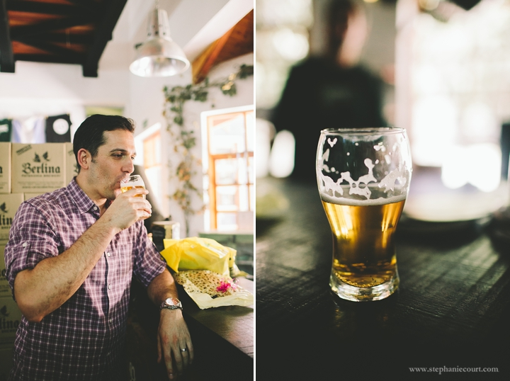 """beer tasting at berlina brewery argentina"""