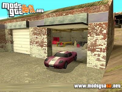 SA - Mod Garagens de Missões Abertas