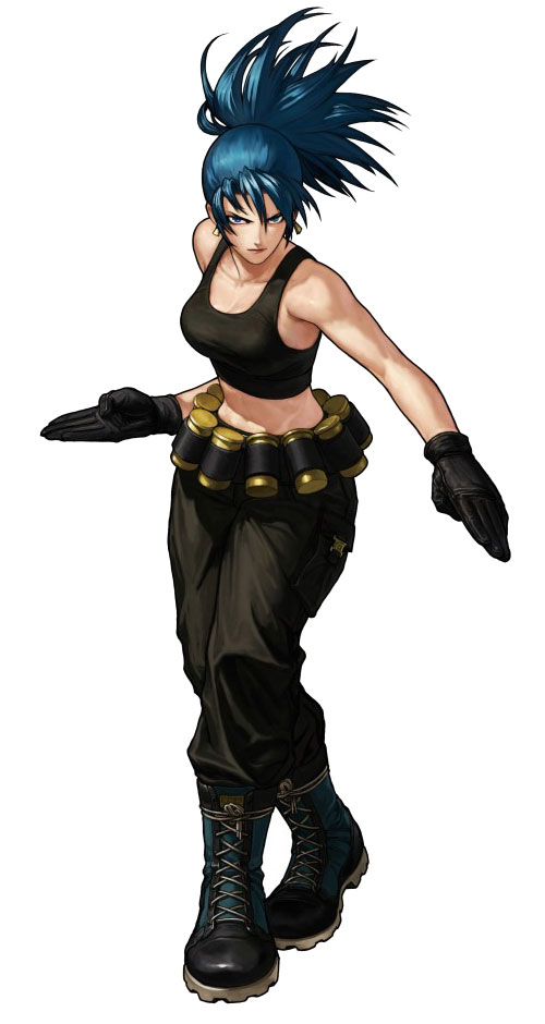 Ca adora de imagens the king of fighter leona heiden - King of fighters characters pictures ...