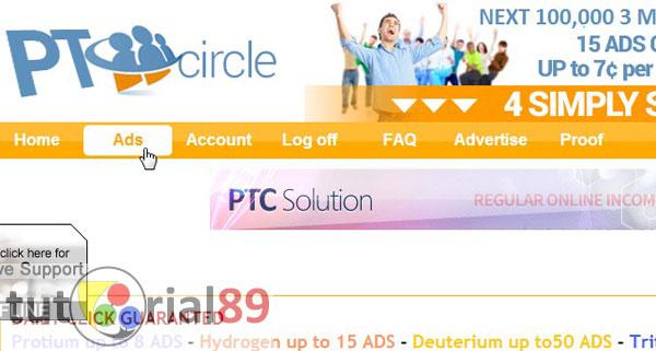 Cara mendapatkan dollar dari internet dengan PTC
