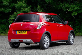 Suzuki Swift SZ4 4x4 (2013) Rear Side