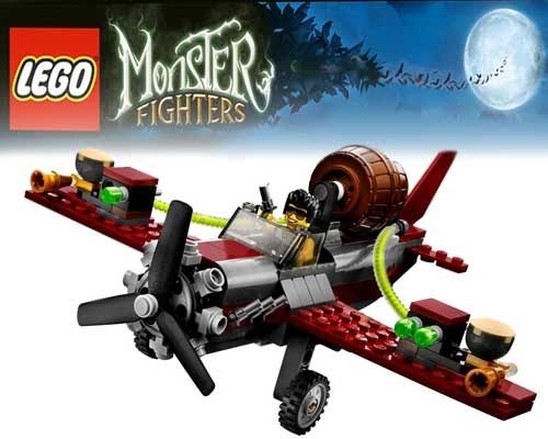 sky acrobatic airplane flight of adventure illuminated 2012 toy monster lego ghost train halloween - Lego Halloween Train