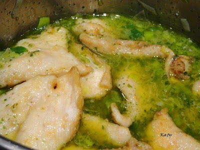 Pechugas de pollo en salsa de puerros - Salsas para pechuga de pollo ...