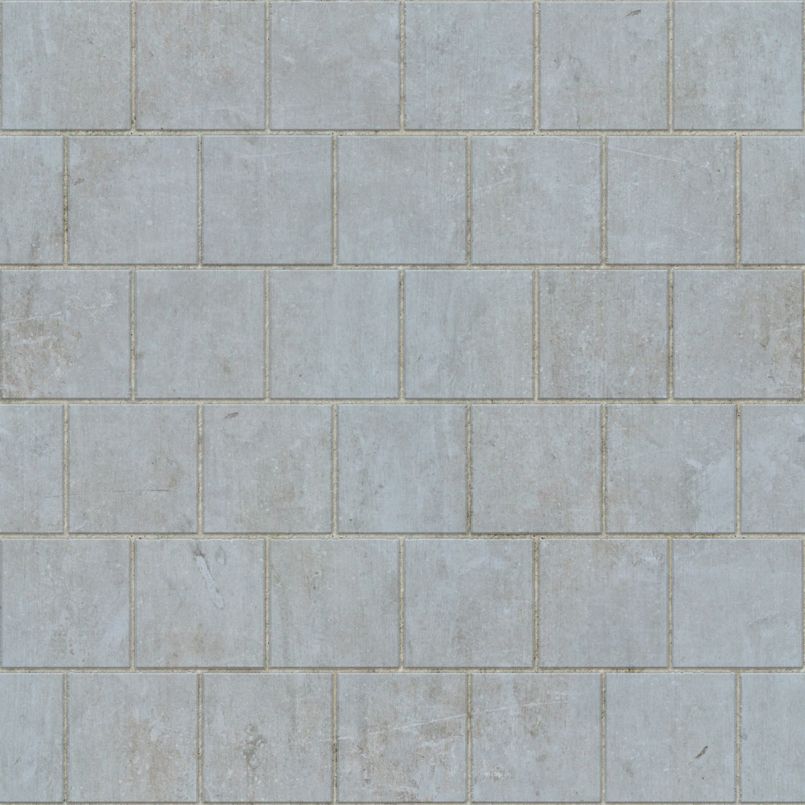 Brick tiles concrete panels seamless texture 2048x2048
