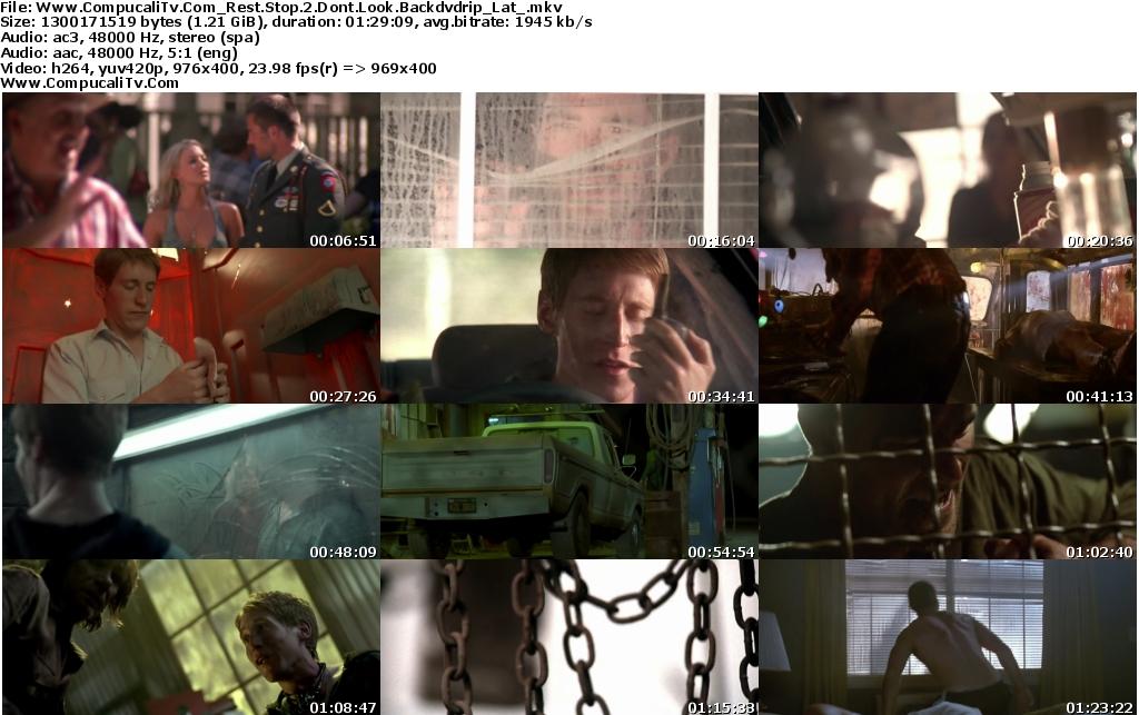 Parada Mortal 2 No Mires Atras [DVDRip] Español Latino Descargar