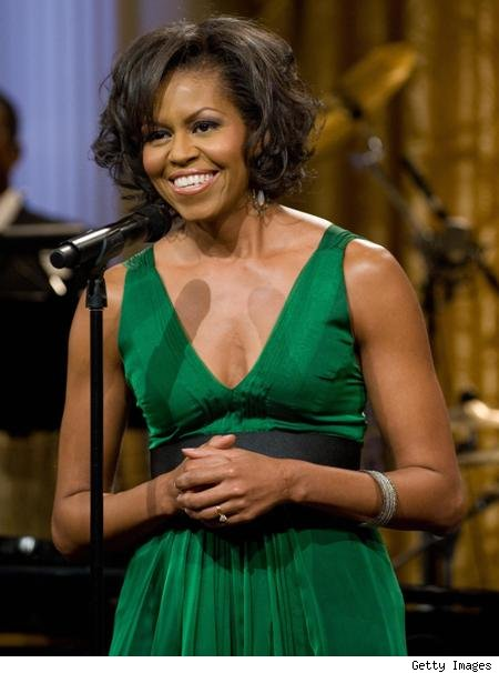 michelle obama pictures monkey. First Lady Michelle Obama