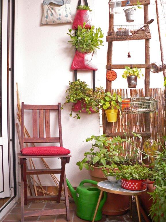 Fräuleins wunderbare welt: grüne balkonoase mit tendenz zur ...