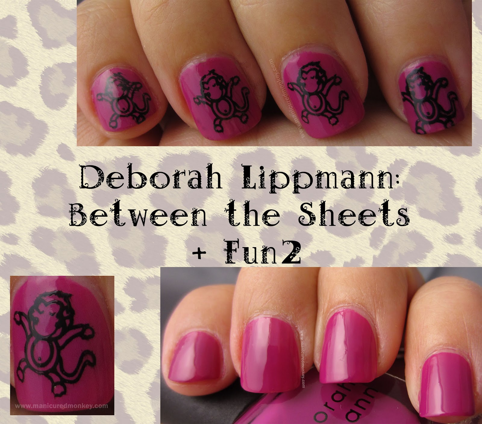 The Manicured Monkey: Deborah Lippmann: Between the Sheets ...