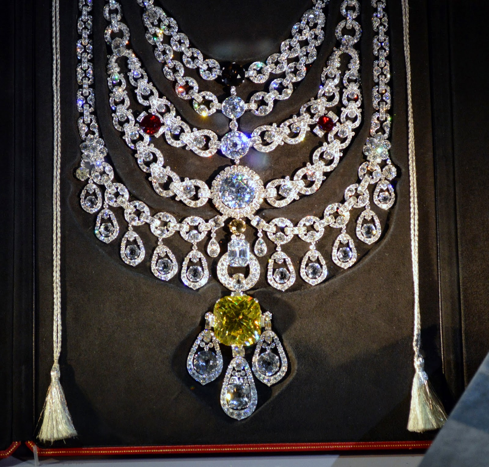 Cartier, necklace, Maharaja