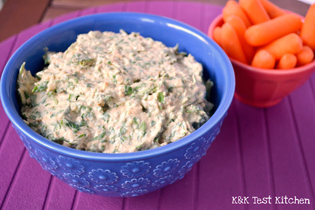 healthy spinach dip recipe